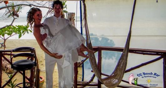 Romantic weddings on the beach