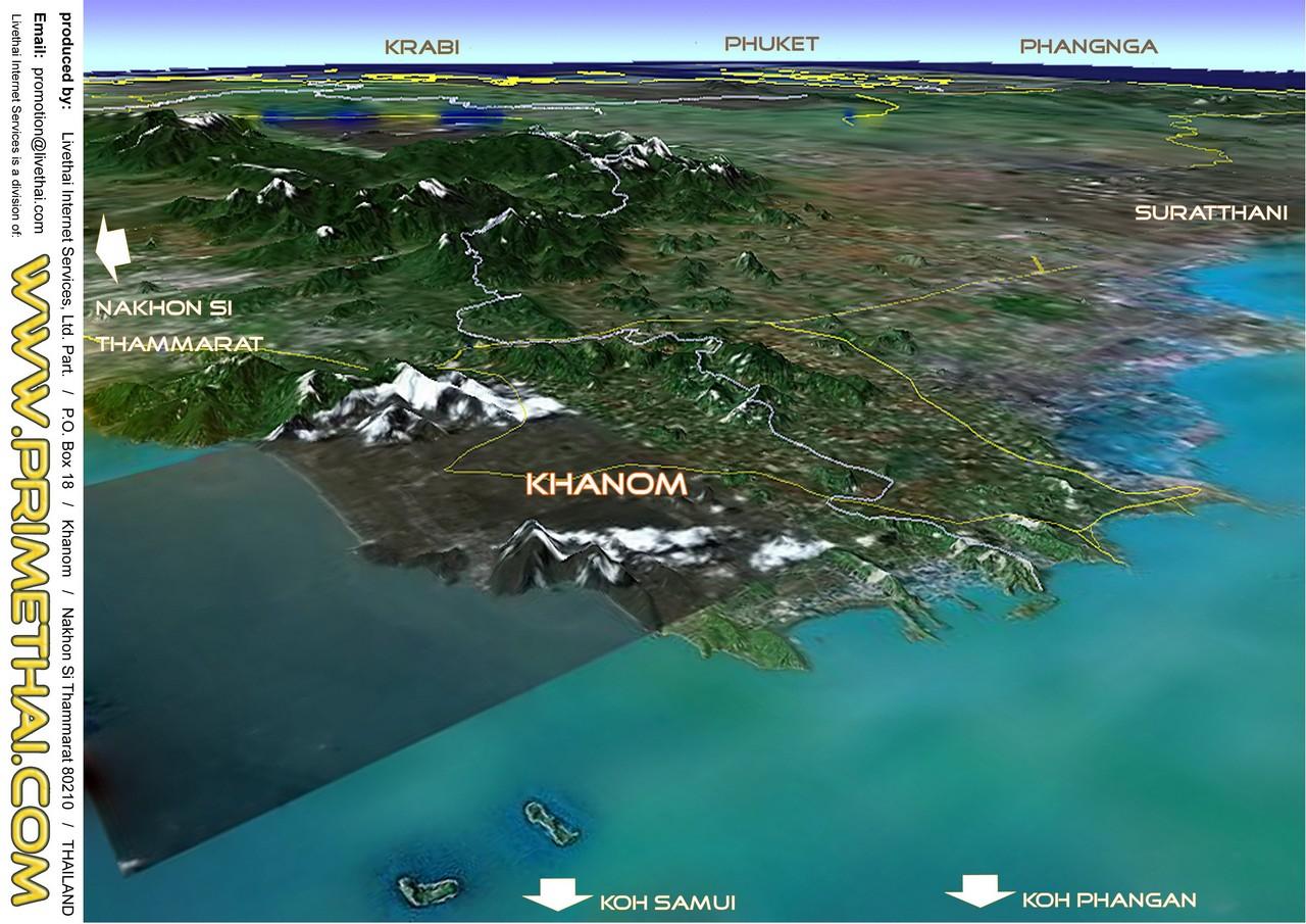 Khanom Information | CC Beach Bar