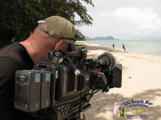 BBC filming in Khanom (1)