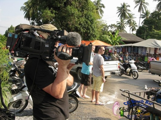 BBC filming in Khanom (4)