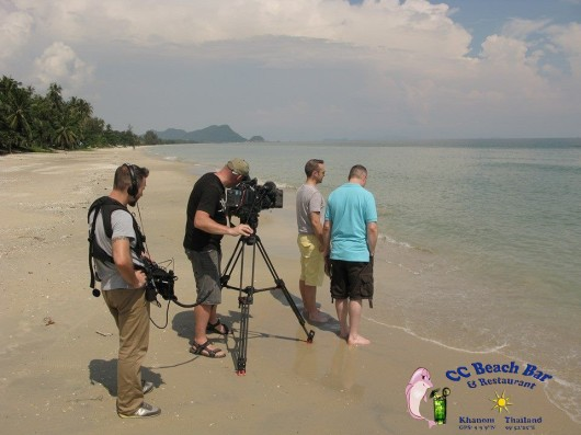 BBC filming in Khanom (6)